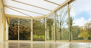 polycarbonate windows are installed in sunrooms and favored for their durability
