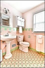 retro bathroom ideas. retro bathroom tile floral tiles vintage best bathrooms ideas on c