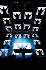 Rave Stage Design Ultra Music Festival 2012 Concert Stage Design Stage