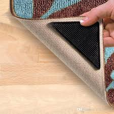 area rug gripper rug gripper non slip area rug pad self adhesive carpet corner anti skid area rug gripper