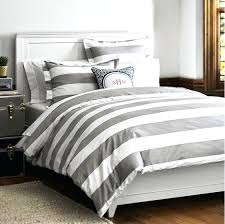 grey and white striped bedding photo 4 of delightful gray stripe large motif bed duvet cover grey and white striped bedding
