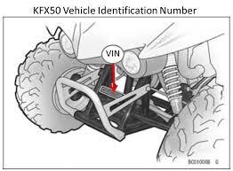 kawasaki recalls all terrain vehicles due to fire hazard cpsc gov 2017 kfx90 atv kfx50 vin location