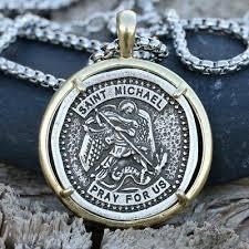 archangel patron saint st michael medal