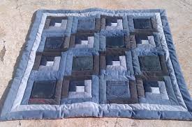 Baby Quilt Bluebaby Quilt Log Cabin Pocket Blue Jean B Quilting ... & Baby Quilt Bluebaby Quilt Log Cabin Pocket Blue Jean B Quilting Ideas  Sppaili Adamdwight.com
