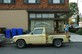 OLD PARKED CARS.: 1978 Chevy Luv Stepside.