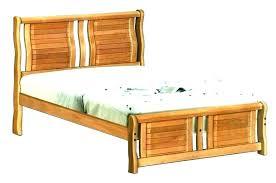 wooden slat bed frame black – Raizdeorigen