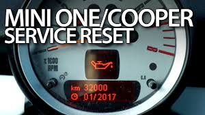 2012 Mini Cooper Service Light Mini One Cooper Service Reset Mr Fix Info