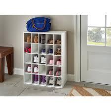 25 cube storage closet shoe rack toy cubby shelf organizer dorm college white 688977979187
