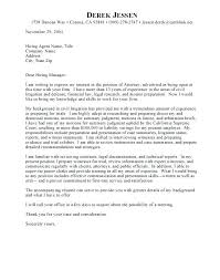 Writing An Awesome Cover Letter Legal Cover Letters Awesome Patent