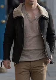 short men all saints jut leather jacket