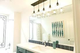 pendant lighting for bathroom vanity. Bathroom Vanity Pendant Lighting Lights Over Double Light Fixture Medium Size Ideas Height Nz For