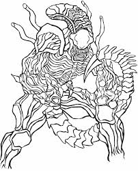 Small Picture Predalien Coloring PagesColoringPrintable Coloring Pages Free