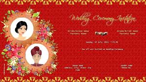 Make Indian Wedding Invitation Cards Online Free Packed With