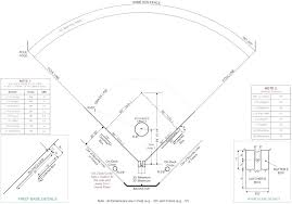 Printable Baseball Field Position Chart Onourway Co