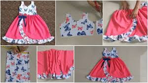 Baby Frock Design 2018 Cutting Designer Frill Baby Frock Cutting And Stitching Simple