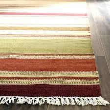 minecraft area rug striped wool rugs unique black white broken stripe handwoven home