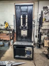 hydraulic press build