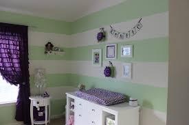 22 22 green and purple girl nursery room view