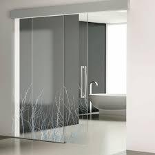 indoor door sliding tempered glass decorative luxor