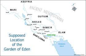 The Garden Of Eden Old Testament Maps Bible History Online