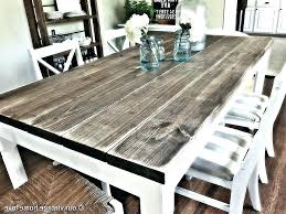white washed wood dining table whitewashed round dining table dining room tables stunning rustic dining table