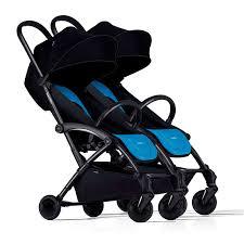 <b>Bumprider прогулочная коляска</b> для двух детей <b>Connect</b>, Black/Blue