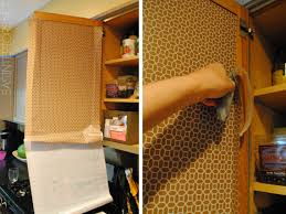 Contact Paper On Kitchen Cabinets Kitchen Organization Ideas For The Inside Of The Cabinet Doors
