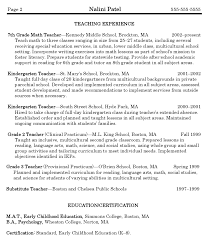 Math Teacher Resume Math Teacher Resume Sample