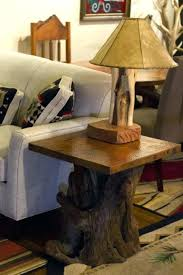 rustic end tables for copper top tables for rustic copper top and cedar end