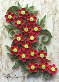 Paper Quilling Flower Bokeh Daydreams Quilled Flower Bouquet