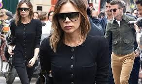 Victoria beckham news from united press international. Victoria Beckham Looks Chic In Paris After Shock Hash Plant Remark Celebrity News Showbiz Tv Express Co Uk