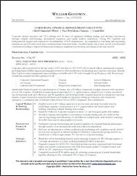 Corporate Resume Examples – Tigertweet.me