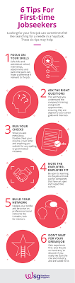 Tips For Job Seekers 6 Tips For First Time Jobseekers Mycareersfuture