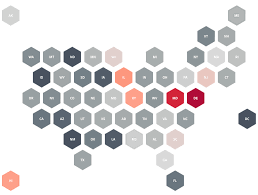 Hexagon Chart Excel Hex Tile Maps Help Eliminate The Alaska Effect