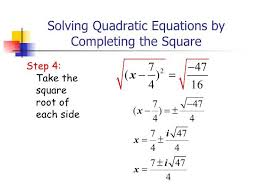 solving quadratic equations by completing the square worksheet algebra 1 with 6 4 solve quadratic equations