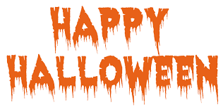 Bildresultat för happy halloween text