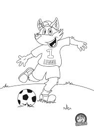 Lenny Kleurplaat Voetbal Kleurplaten Character Fictional