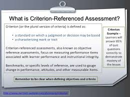 Developing Assessment Instruments
