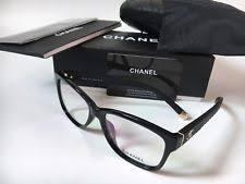 chanel eyeglass frames. nib chanel ch 3324 501 black quilted eyeglasses frames size 54 chanel eyeglass