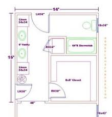 master closet and bath floor plan ideas master bathroom design 14x15 with deck bathroom plans with walk in t13 plans