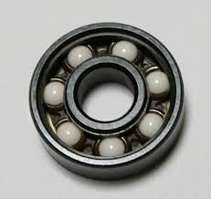 skateboard bearings. inline skate ceramic black bearings set. the set has 16 608 steel ball with high speed solid balls (not painted or filled skateboard