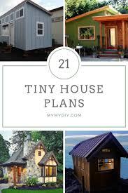 21 diy tiny house plans free