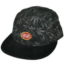 Details About Cayler And Sons Weed Marijuana Clip Buckle Corduroy Flat Bill Ganja Hat Cap Blk