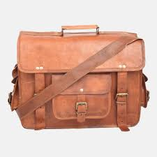 womens leather laptop briefcase with zip top front