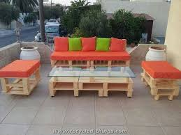 patio furniture from pallets. ideas for pallet patio furniture from pallets