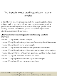 Teaching Assistant Resume Top10000specialneedsteachingassistantresumesamples100505291001003100001007lva100app61000092thumbnail100jpgcb=1001003291000379 84