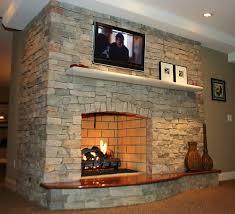 Stone Selex Of Toronto Presents Interior Stone Fireplace