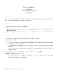 First Time Resume Stunning First Time Resumes First Time Resume With No Experience Samples