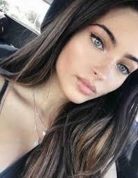79 Brunette Blue Eyes Ideas