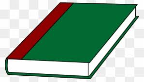 a book with a green cover free clip art cartoon pictures of book